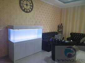 Aquarium Cabinet Paket Arwana Lengkap 150cm