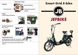 DIJUAL CEPAT!! Sepeda Listrik JEFFERYS JEF-E BIKE MURAH