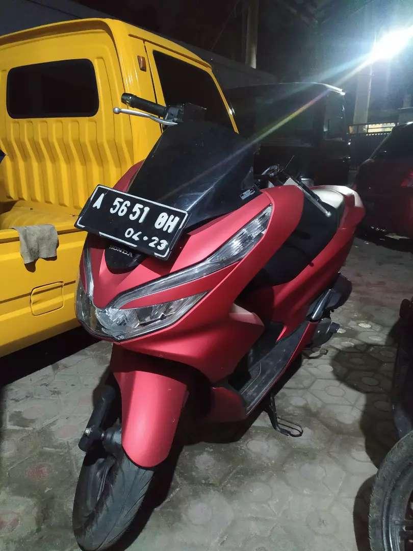Motor PCX 2018 Warna Merah 0