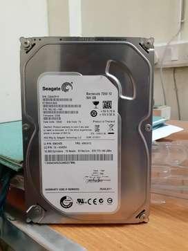 Seagate 500GB Barcuda 7200.12 Internal Desktop Hard disk