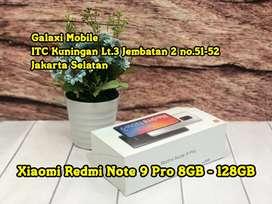 Terima Kredit Dp Low - Redmi Note 9 Pro 8GB/128GB Resmi Minat Japri