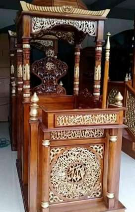 Mimbar masjid kubah TFJ 0236