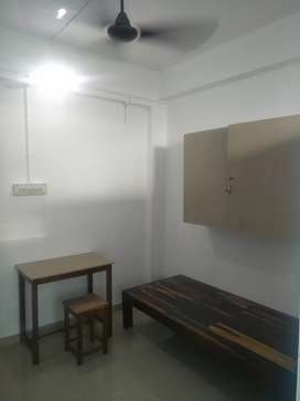 (bachiler 1 person only) New semi furnished single room batattached
