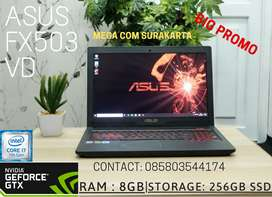 LAPTOP GAMING ASUS TUF FX503VD SUPER MANTAP