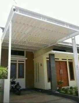 @20 canopy minimalis rangka tunggal atapnya alderon pvc bikin nyaman