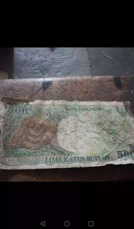 Di jua uang kuno orang utan