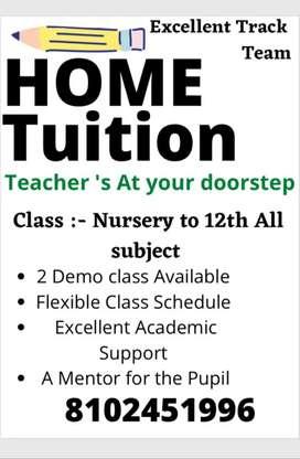 Tutor / Teacher at your door step