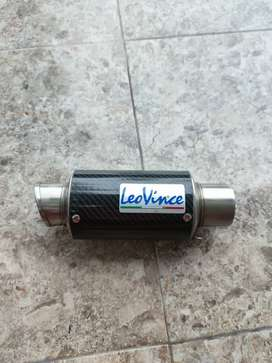 Knalpot Leovince GP Corsa Short Carbon Only Slincer Universal Original