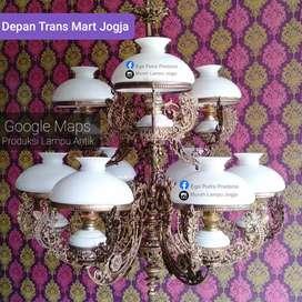 GROSIR LAMPU GANTUNG DINDING ANTIK KLASIK MINIMALIS HIAS JOGLO CAFE