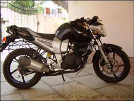 Yamaha fz bike good condition black colour
