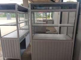 Jual stand stall steling untuk jualan makanan