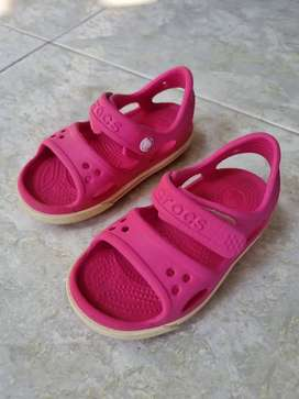 Sandal anak CROCS pink