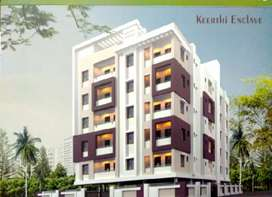 Under construction 2BHK flats in bheemili highway facing