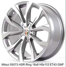 Jual Velg Racing HSR Mitsui Ring 18 Untuk Mobil Innova