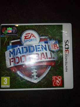 nintendo 3ds madden  football