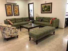 550 gaj kothi floor for sale fully furnished