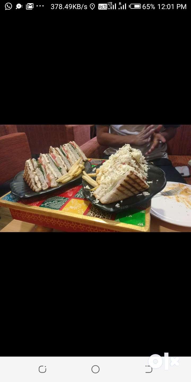 Continetel chef  piazz sandwich pasta etc.all continetel food 0