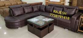 New L-corner Sofa Set Direct From Factory Outlet