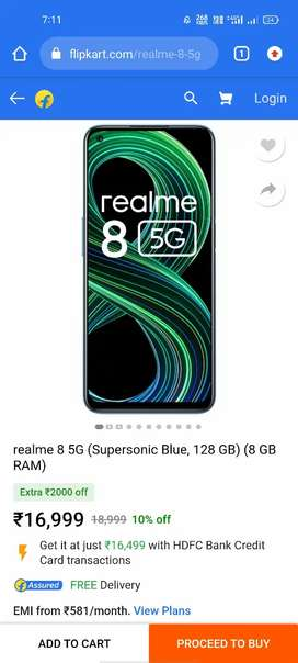 Realme 8 5G 128gb...ROM Money problem  only 25days old phone