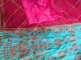 Fancy embroidered sharara
