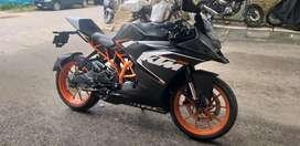 KTM RC 200 1st owner good condishion