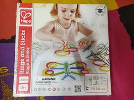 Rings and sticks by hape