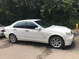 Mercedes-Benz C-Class 200 K Elegance AT, 2005, Petrol
