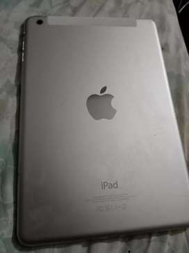 iPad mini wifi cellular and WiFi 16GB