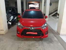 Toyota agya G 1,2 thn 2018, Rp 107jt, bisa kredit tanpa DP