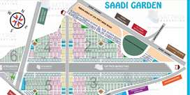 Sadi garden blok 5 west open plot