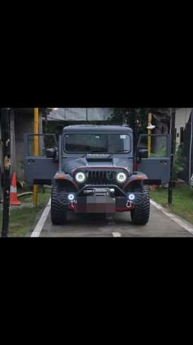Turbo modified willys jeep