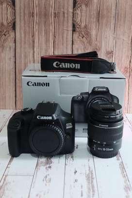 Canon 3000D bagus mulus no minus