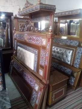 New Bed and Dressing Available. M. Ahmed Furnishers and Sofa House.
