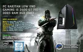 PC INTEL CORE I5 2400 GT 710 READY UNTUK OFFICE DAN GAMING LOW