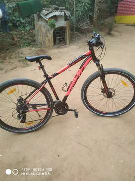 Montra metal 1 to 8 gear speed 31doble disc only 4 month