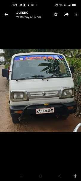 Passenger van duel gas and petrol, medium tyres
