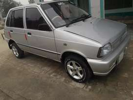 Mehran vxr  2017A new key silver color Lahore number A1 condition
