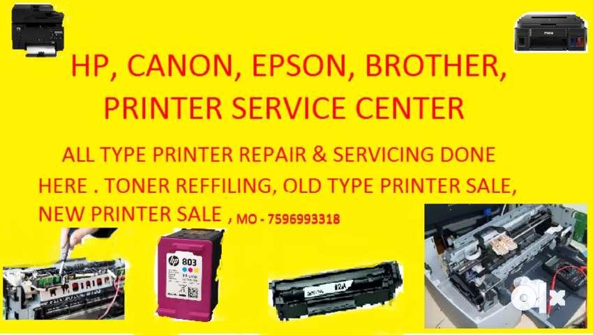 Hp canon epson brother printer service center