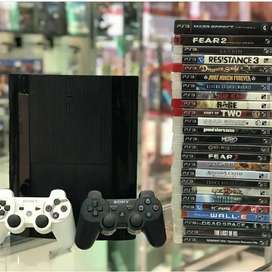 Month End Gaming Sale for Playstation 3 500gb with warranty Games