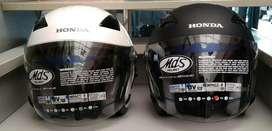 Helm honda double visor