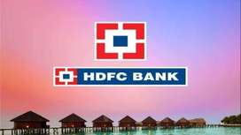 LIMITED JOB VACANCY IN HDFC BANK JOB  FOR FRESHERS CANDIDATES.