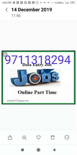 Weekly paymnt in home based job data typing
