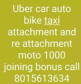 Uber car auto bike moto free attachment