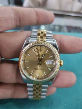 Rolex Datejust Steel and Gold Watch