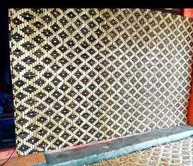 Anyaman bambu motif gedek