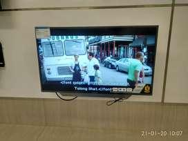 Tv 43 inc politron smart tv