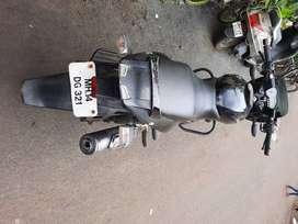 Bajaj Pulsar 150 50 min average in city. Good condition.