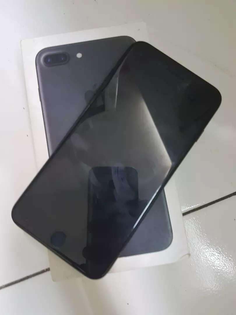 Iphone 7 plus black matt 128gb 0