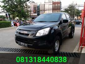 Isuzu D max 2.5 VGS Double Cabin MT 4x4 Turbo Intercooler Siap Pakai