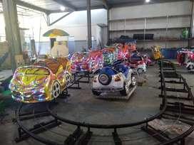 wahana roller coaster isi 16 anak mainan labirin run DSY